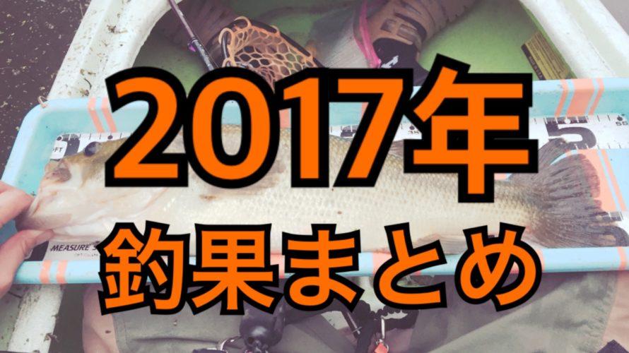 【総括】2017釣果まとめ
