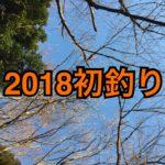 【釣行】1/6中川水系おかっぱり-2018年初釣り-