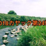 【釣行】カヤック第24戦-水温30℃超え&水位下限-
