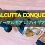 【カスタム】14カルカッタコンクエストを4,500円でハイギア化