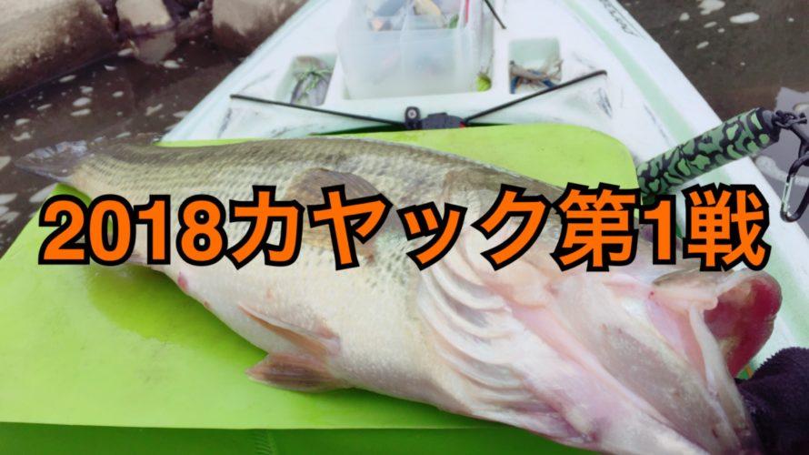 【釣行】3/5カヤック2018第1戦-セルフレコード更新-