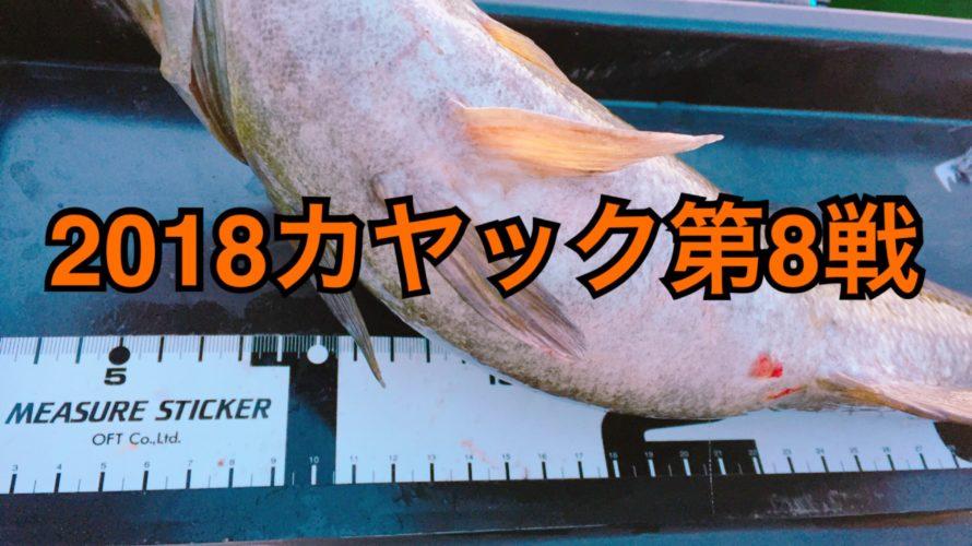 【釣行】4/8カヤック第8戦-春のジャクベフィッシュ★-