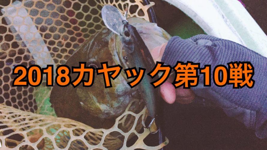 【釣行】カヤック第10戦-冷たい雨に耐えながら-