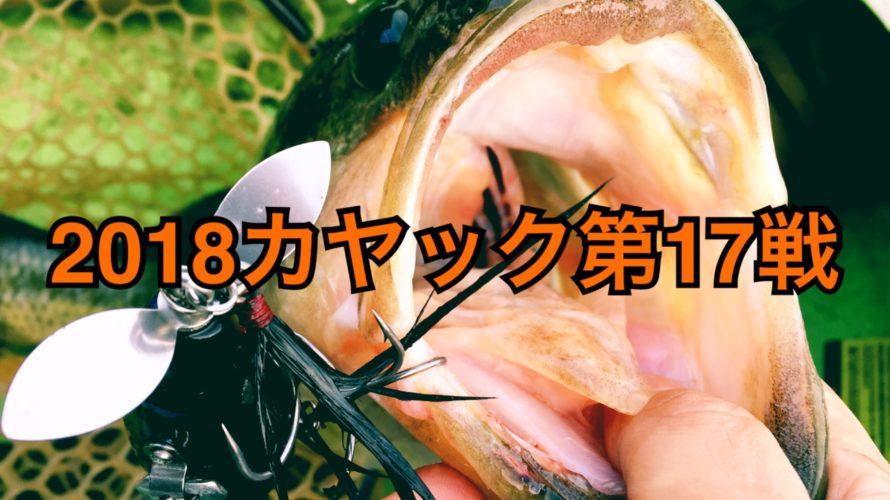 【釣行】カヤック第17戦-アフターラージのトップパターン♪-