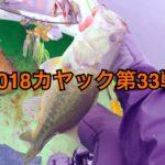 【釣行】カヤック第33戦-漕いで巻いての久々ホーム-